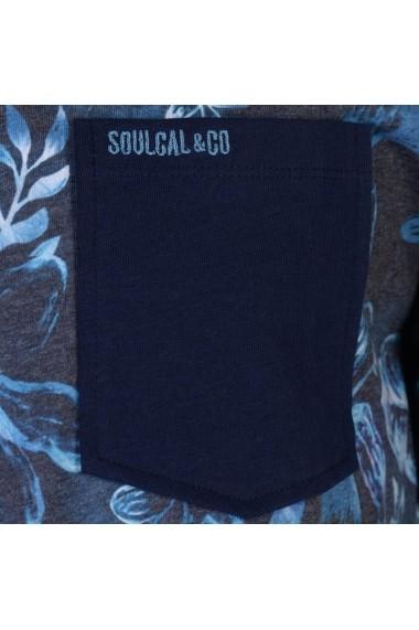 Tricou SoulCal 59904122 Bleumarin