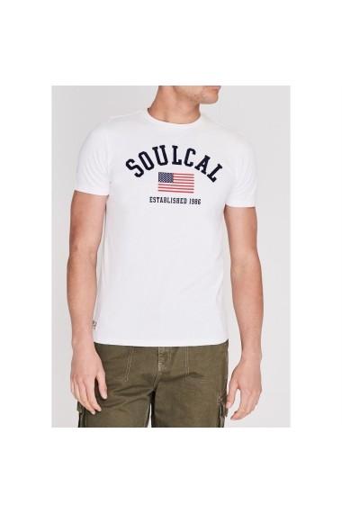 Tricou SoulCal 59727269 Alb