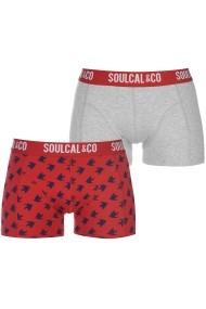 Set 2 perechi de boxeri SoulCal 42221584 Multicolor