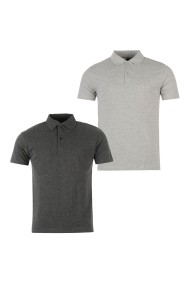 Set 2 tricouri polo Donnay 54919725 Gri