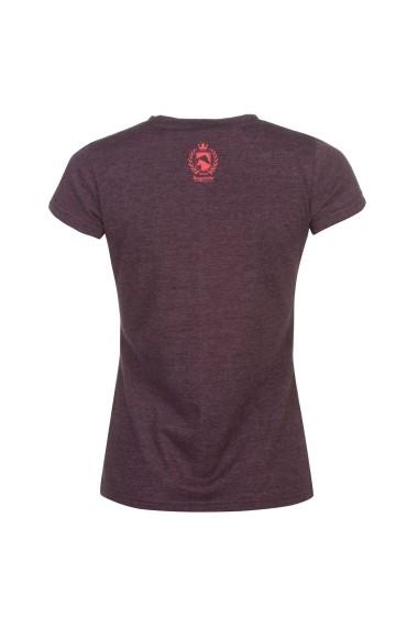 Tricou Requisite 63517209 Bordo