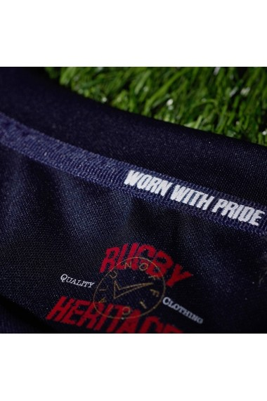Tricou Team Rugby 38417692 Negru