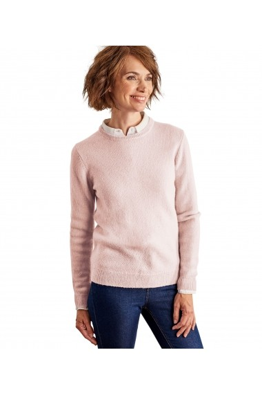 Pulover din lana Wool Overs L1LX-Pale-Pink Roz - els