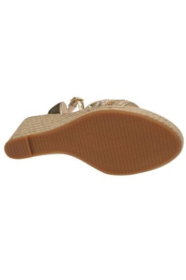 Sandale cu toc Miso 23127410 Auriu