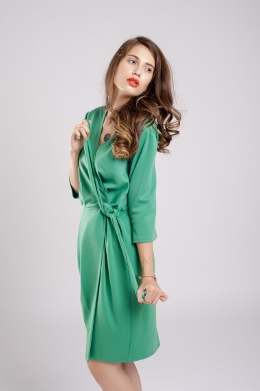 Rochie Couture de Marie petrecuta Green Dress