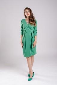 Rochie Couture de Marie petrecuta Green Dress