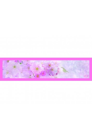 Esarfa Accesorii by ID 180x45 TOUCH OF PINK FLOWER