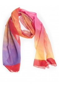 Esarfa Accesorii by ID 180x45 MIXED COLORS RED