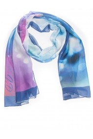 Esarfa Accesorii by ID 180x45 MIXED COLORS BLUE