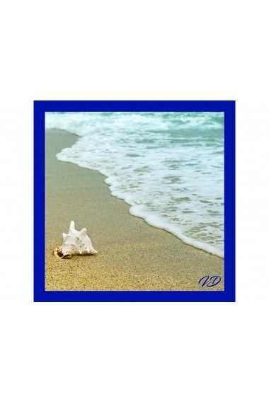 Esarfa Accesorii by ID 90X90 SHELL ON THE BEACH
