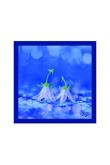 Esarfa Accesorii by ID 90X90 BLUEBELL