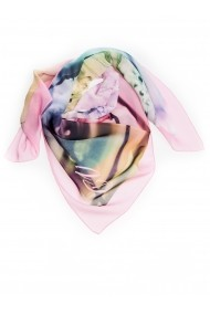 Esarfa Accesorii by ID 90X90 MIXED COLORS PINK