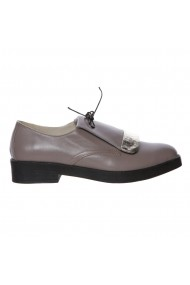 Pantofi piele Fragola Luisa Fiore Gri-bej