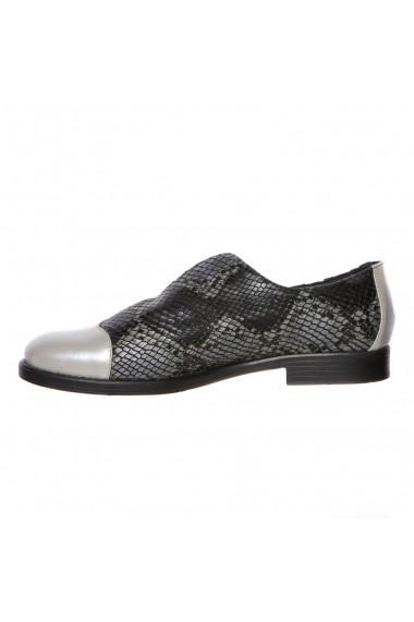 Pantofi piele Luisa Fiore Lilla multicolor