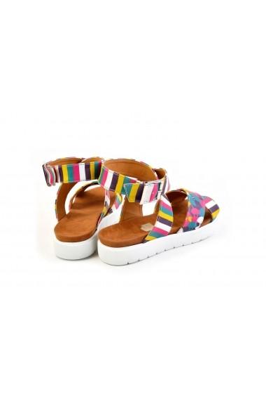 Sandale plate NEEFS NSN204 Print - els