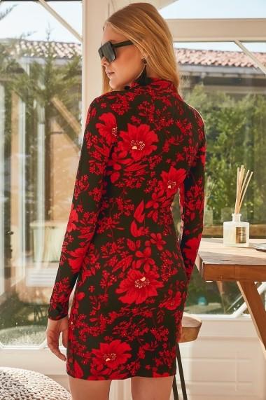 Rochie scurta de zi Boutiquen 2080 Florala