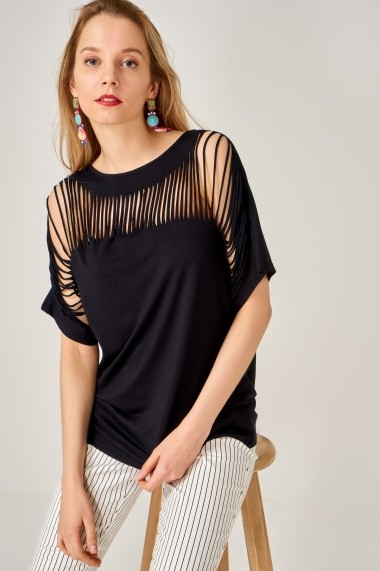 Bluza Boutiquen 10886 Neagra
