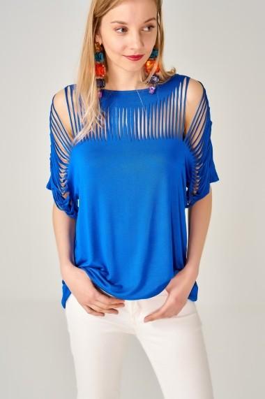 Bluza Boutiquen 10886 Albastra