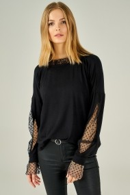 Bluza Boutiquen 1017 Neagra