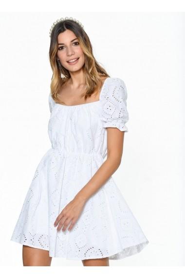 Rochie Bambina Mia KR3318 Alb