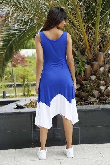 Rochie Bambina Mia KR2654 Albastru