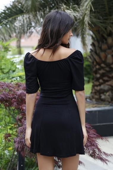 Rochie Bambina Mia KR2655 Negru