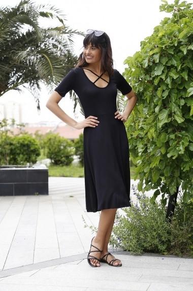 Rochie Bambina Mia KR2665 Negru