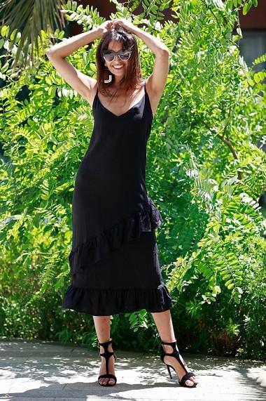 Rochie Bambina Mia KR2763 Negru