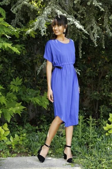 Rochie Bambina Mia KR2719 Albastru