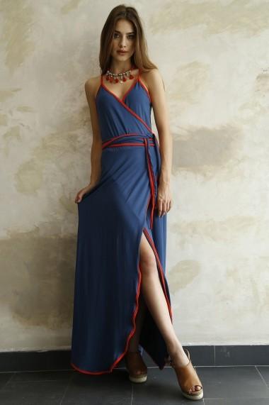Rochie Bambina Mia KR1806-SAKS Albastru