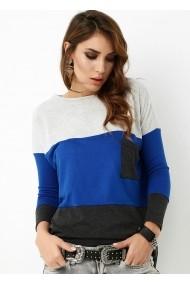 Bluza Bambina Mia KR0629-3-RENK Albastru - els