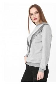 Bluza Bambina Mia KR0765-GRI Gri
