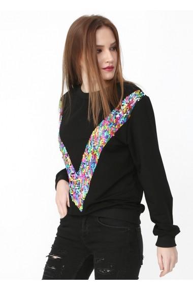 Bluza Bambina Mia KR0765-RENKLI Multicolor