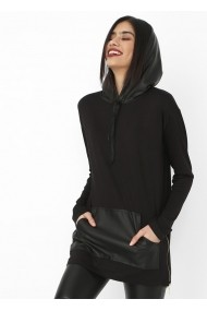 Блуза Bambina Mia OYO-KR0767-SIYAH-BLACK Черен
