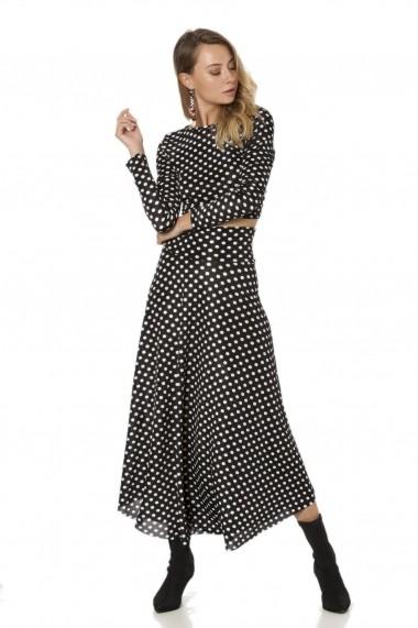 Set bluza si fusta Bambina Mia KR2860-SIYAH Buline