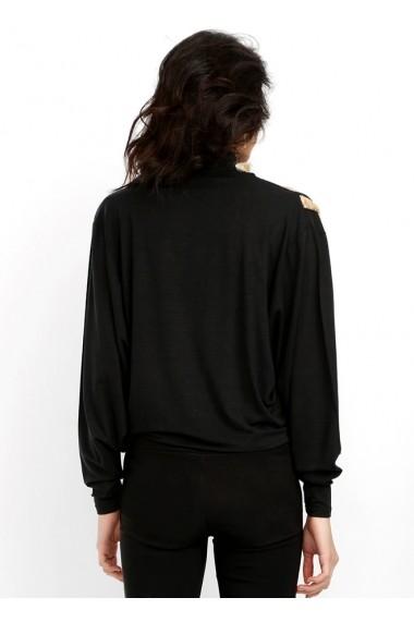 Bluza Bambina Mia KR1035-SIYAH Negru