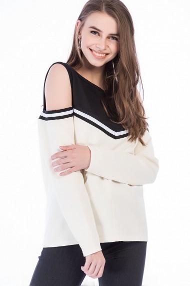 Bluza Bambina Mia KR2865-SIYAH Negru
