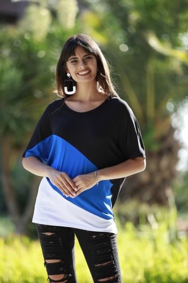 Bluza Bambina Mia KR2805 Albastru