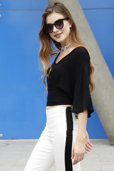 Bluza Bambina Mia KR1819-SIYAH Negru