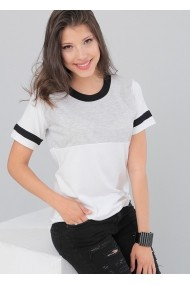 Bambina Mia Topok & Ujjatlan felsők OYO-KR1666-BEYAZ-WHITE Fehér