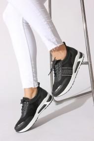 Pantofi sport ROVIGO 73004-02 negru