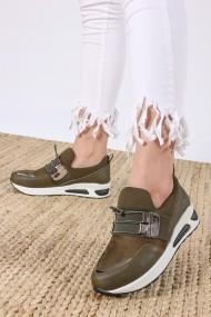 Pantofi sport ROVIGO 73006-04 kaki - els