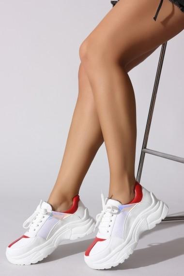 Pantofi sport ROVIGO 730101-01 alb