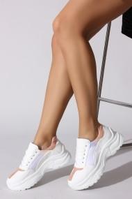 Pantofi sport ROVIGO 730101-02 alb