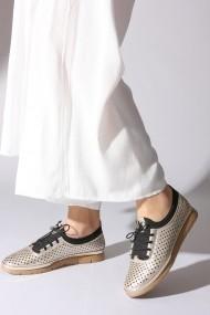 Pantofi sport casual ROVIGO 572204-03 auriu