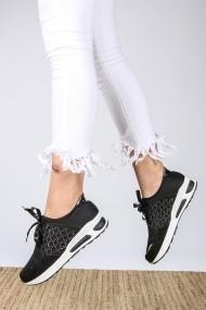 Pantofi sport casual ROVIGO 730218-03 negru
