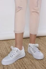 Pantofi sport ROVIGO 900246-01 alb