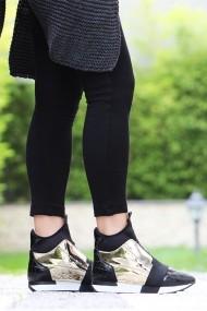 Pantofi sport casual ROVIGO 9010-03-01 negru