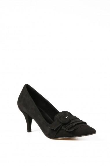 Pantofi cu toc ROVIGO 0383418-01 negru
