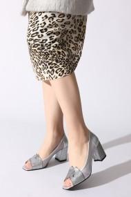 Pantofi cu toc ROVIGO 0389755-03 argintiu